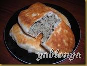 жареные пирожки, пирожки с печенью, рецепт теста для пирожков, дрожжевое тесто, хреновина