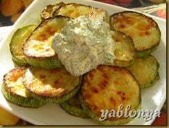 жареные кабачки, вкусные кабачки, кабачки с чесноком, рецепты блюд из кабачков
