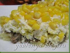 салат со шпротами, салат с кукурузой консервированной, какие новые салаты, новые оригинальные салаты, рецепт салата со шпротами, выбрать шпроты