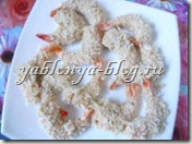 хрустящие креветки, рецепт креветок в кляре, креветки в панировке, обжаренные креветки, самые вкусные креветки, креветки с кокосом