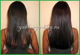 Ламинирование волос фото отзывы