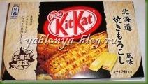 батончик kitkat, необычные суши